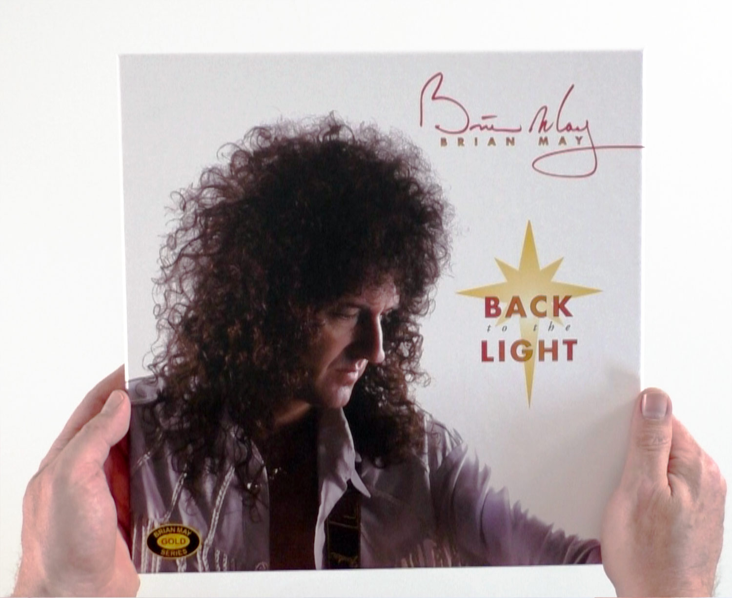 Brian May / Back to the Light unboxing video