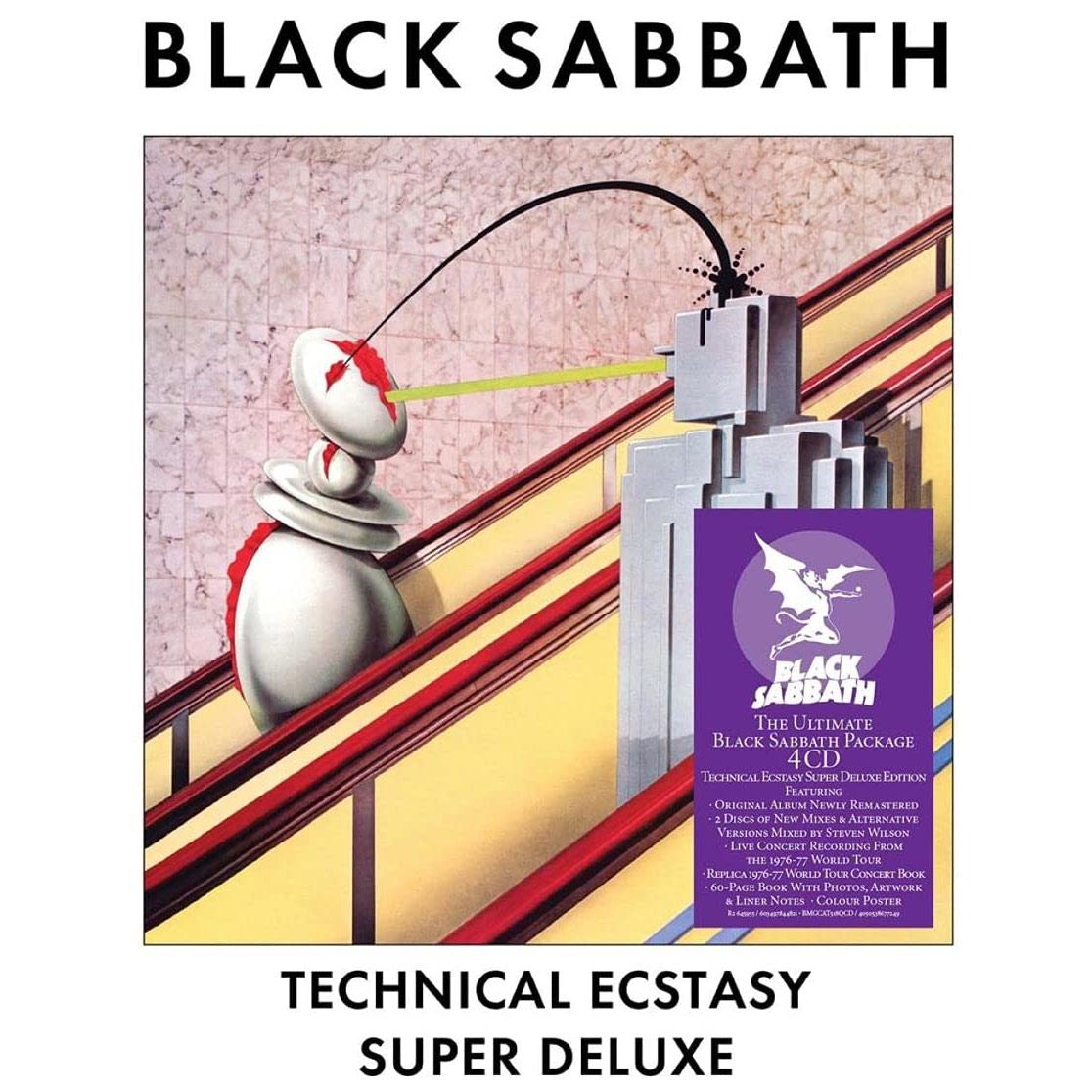 Black Sabbath / Technical Ecstasy super deluxe