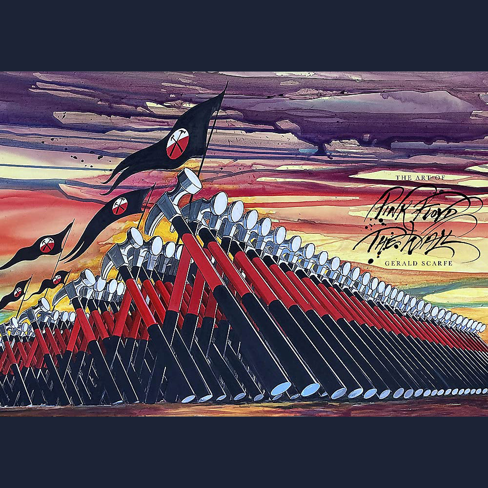 The Art of Pink Floyd's The Wall by Gerald Scarfe