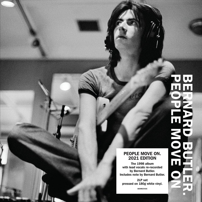 Bernard Butler / People Move On 2021 edition 2LP white vinyl