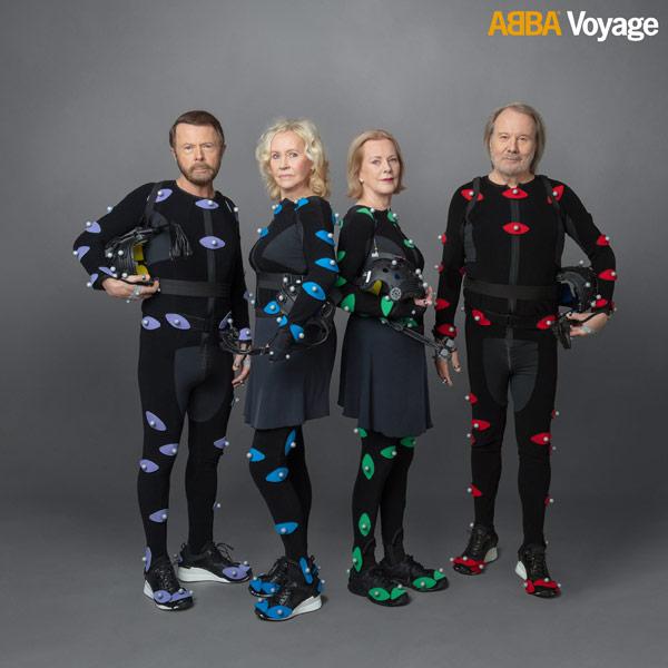 ABBA / Voyage motion capture suits